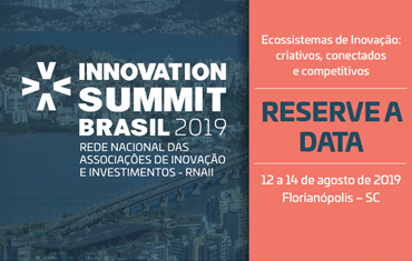 Innovation Summit Brasil 2019 save the date